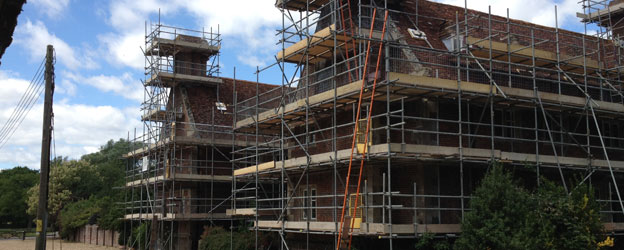 Domestic Scaffolding solutions by TAG